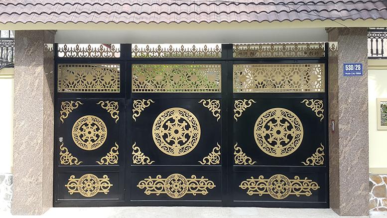 Làm cửa sắt cắt CNC đẹp tại Đà Nẵng Cửa sắt cắt CNC Vũng Tàu-142