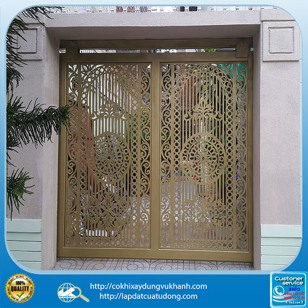 Mẫu cửa cổng hoa văn cắt cnc-6