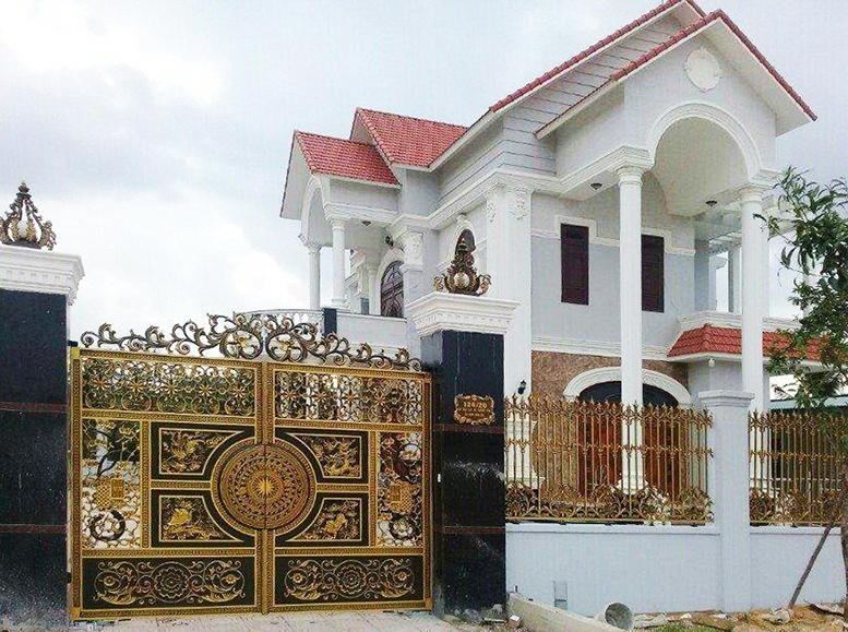 Công Nhôm Đúc Đặc Cho Ngôi nhà đẹp-104