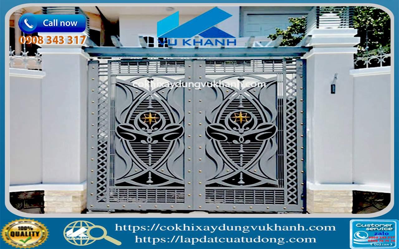 Cửa Cổng Sắt Cắt CNC Hiện Đại-49