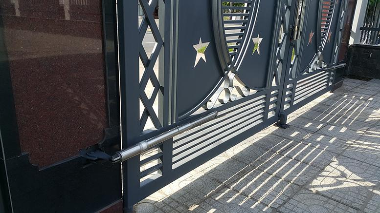 Cửa cổng sắt cắt CNC nghệ thuật đẹp-137