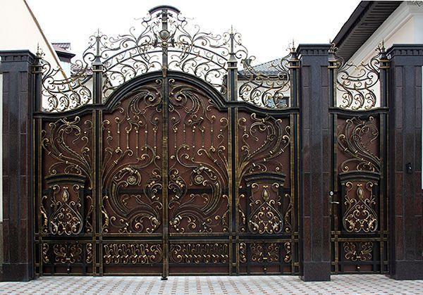 Trọn bộ 50 mẫu cửa cổng sắt mỹ thuật đẹp hút hồn người xem-200