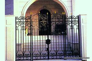 Cửa Cổng Sắt Mỹ Thuật Vũ Khanh SP-15528
