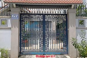 Cửa Cổng Bông Gang Vũ Khanh SP-22922
