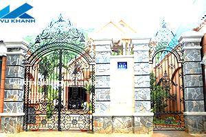 Cửa Cổng Sắt Kỹ Nghệ SP-24915