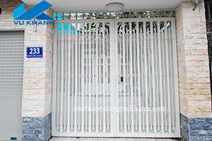 Cửa Cổng Sắt Kẽm Hiện Đại SP-85559