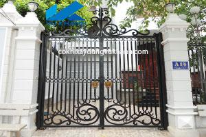 Cửa Cổng Hai Cánh Nghệ Thuật-SP-71365