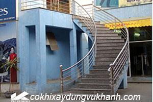 Lan Can Inox Tay Vịn Cầu Thang SP-14158