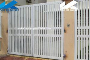Cổng Nhà Bằng Sắt SP-47392