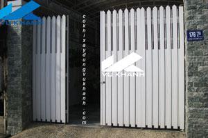 Cổng Nhà Phố Mạ Kẽm SP-54581