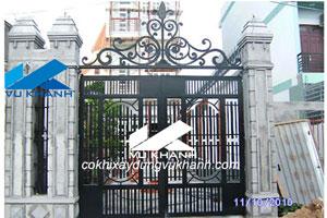 Cổng sắt đẹp SP-57733