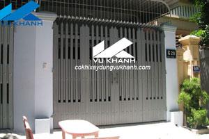 Cổng Sắt Mạ Kẽm SP-29116
