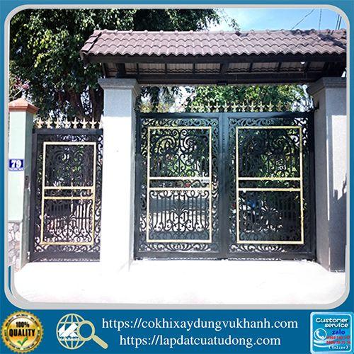 Cửa Cổng CNC-nhà chú Tư Hùng