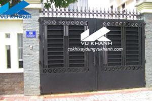 Cửa Cổng Đẹp Bằng Sắt SP-46422