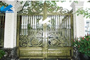 Cửa Cổng Cắt Hoa Văn SP-79175