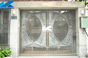 Cửa Cổng Sắt Hiện Đại SP-62945