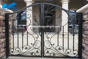 Cửa cổng sắt mỹ thuật VK-8313