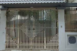 Cửa cổng Inox SP-65821