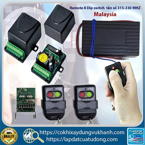 Remote điều khiển cửa cổng mở tự động - Malaysia